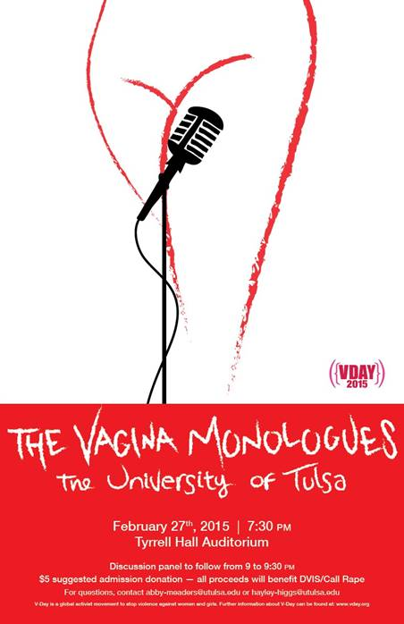 """""""The Vagina Monologues"""" by Eve Ensler has been performed internationally since its premier in 1996."""
