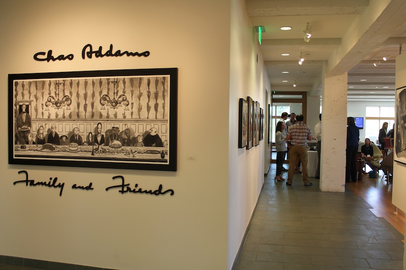 Addams' Family and Friends exhibit explores everyday life in a morbid and witty way.