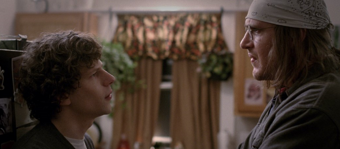 Jesse Eisenberg as David Lipsky and Jason Segel as David Foster Wallace perform brilliantly in this tribute to Wallace's life.