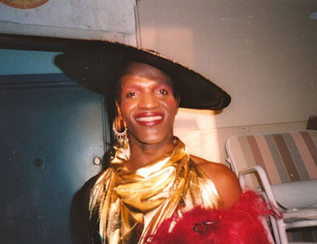 Marsha P. Johnson, the trans black woman who threw the first brick in the Stonewall Riots.