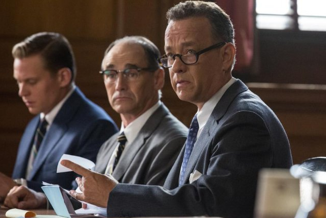 Tom Hanks gave an outstanding performance in Steven Spielberg's newest film.